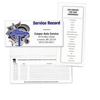 "Auto Service & Maintenance Standard Design Document Folder (10 1/4""x4 1/2"")"
