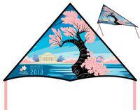 """The Art Delta Kite™ (36""""x21"""")"""