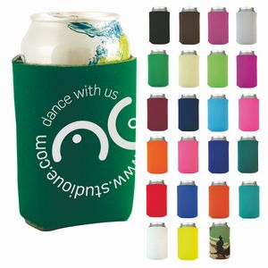 Best Value Can Cooler (Screen Printed)