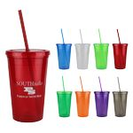 16 Oz. Double Wall Tumbler Cup
