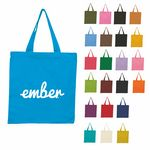 Custom Cotton Tote Bag -- Colored Bags