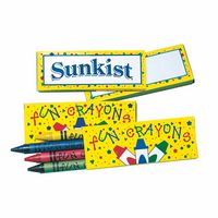 Crayons 4 Pack