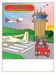 Custom Airport - Imprintable Coloring & Activity Book