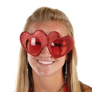 Glittered Heart Fanci Frames