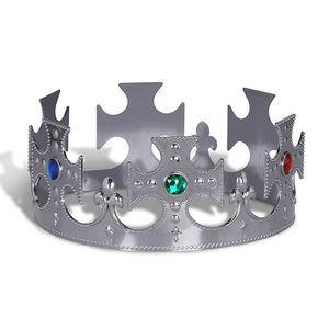 Custom Plastic Jeweled Kings Crown