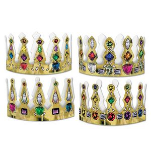 Custom Printed Jeweled Crowns