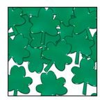 Custom Fanci Fetti Green Shamrocks