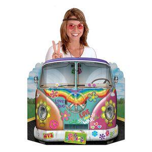 Custom Hippie Bus Photo Prop