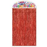 Custom Birthday Cake Character Curtain