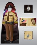 Custom Custom Child Size Male Trooper Officer Photo Prop