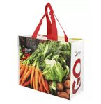 Custom Recycled RPET Laminated Grocery Tote Bag