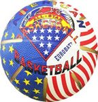 Official Size Color Rubber Basketball