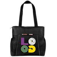 Universal Laptop Tote Bag w/ Reflective Trim