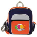 Custom Contemporary Kid's Backpack w/ Side Elastic Pocket