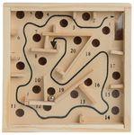 Custom Wooden Maze Game