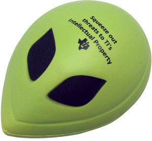 Custom Imprinted Alien Stress Relievers