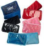 Custom Plush Rectangle Gel Beads Hot/ Cold Pack