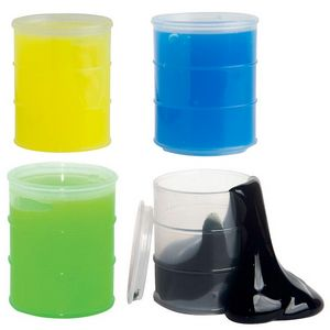 Oil Barrel Anti-Stress Putty - Black or Neon Green