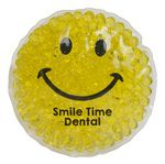 Custom Smiley Gel Beads Hot/Cold Pack