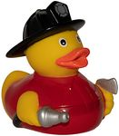 Custom Fireman Rubber Duck