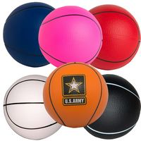 "2.5"" Basketball Squeezies® Stress Reliever"