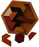 Custom Hexagon Wooden Puzzle
