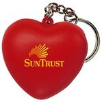 Sweet Heart Squeezies® Stress Reliever Key Ring