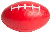 Red Football Squeezies® Stress Reliever