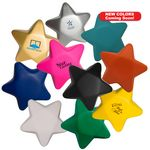 Custom Squeezies Stress Reliever Star