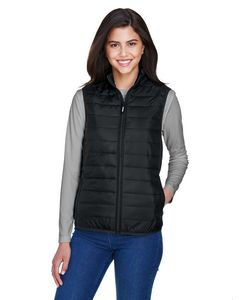 Custom CORE 365 Ladies' Prevail Packable Puffer Vest
