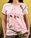 Custom CODE V Ladies' Realtree Camo T-Shirt