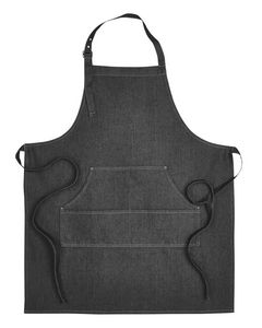 Custom ARTISAN COLLECTION BY REPRIME Unisex Jeans Stitch Denim Bib Apron