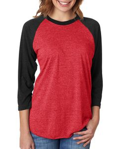 9e09fc8fed4 NEXT LEVEL APPAREL Unisex Triblend 3 4-Sleeve Raglan - 6051 - IdeaStage  Promotional Products