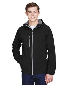 Custom Men's North End Prospect 2 Layer Fleece Bonded Soft Shell Jacket w/Hood