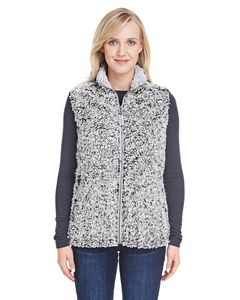 Custom J AMERICA Ladies' Epic Sherpa Vest