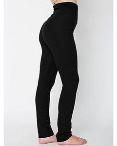 Custom American Apparel Ladies' Cotton/Spandex Yoga Pant