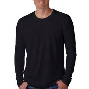 NEXT LEVEL APPAREL Men's Cotton Long-Sleeve Crew