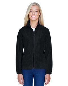 Custom Harriton Ladies' 8 oz. Full-Zip Fleece