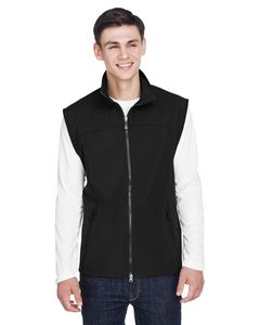 NORTH END Mens Three-Layer Light Bonded Performance Soft Shell Vest