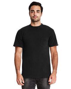 Custom NEXT LEVEL APPAREL Adult Power Pocket T-Shirt