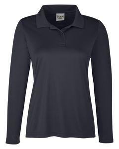 Custom Team 365 Ladies' Zone Performance Long Sleeve Polo