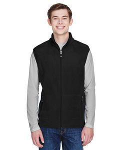 Custom NORTH END Men's Voyage Fleece Vest