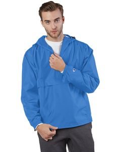 Custom Champion Adult Packable Anorak 1/4 Zip Jacket