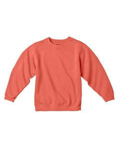 Custom Comfort Colors Youth 10 oz. Garment-Dyed Crew Sweatshirt