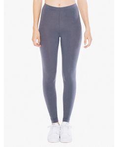 Custom American Apparel Ladies' Cotton Spandex Jersey Leggings