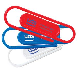 Custom Printed Giant Paperclips