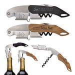 Custom Double Hinged Wine Key Corkscrew