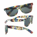Custom Tie-Dye Sunglasses
