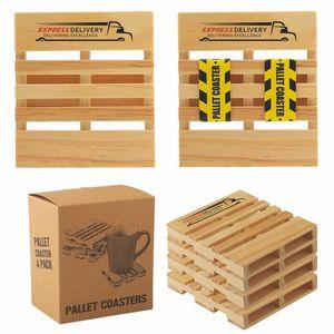 Custom Imprinted Wood Pallet Promotional Items!