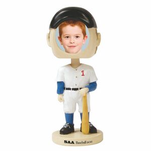 Custom Imprinted Baseball Player Bobble Head Picture Frames!